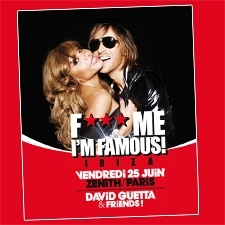 An amazing evening; 'F*** me I'm famous' in Paris at the Zenith with Gleeden!